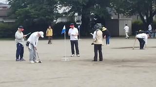 6/24 グランドゴルフ 試合中.jpg