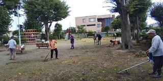 9/24 公園清掃�C.JPG