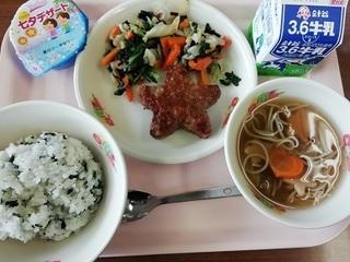 7/13 たなばたの給食.jpg